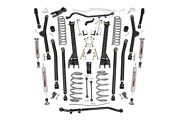 Rough Country 6 Long Arm Susp Lift Kit For Jeep Wrangler Unlimited Lj 04-06