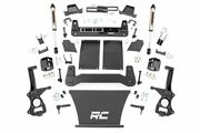 Rough Country 6in Lift Kit|strut Spacers And V2 19-20 Chevy 1500 Pu 4wd/2wd