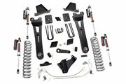 Rough Country 6in Ford Radius Arm Lift Kit|vertex 15-16 F-250|overloads
