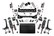 Rough Country 6in Suspension Lift Kit W/vertex Shocks Fits Toyota 07-15 Tundra