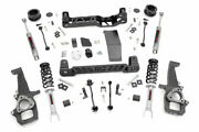 Rough Country 4in Dodge Lift Kit n3 Struts And N3 Shocks 12-18 For Ram 1500 4wd