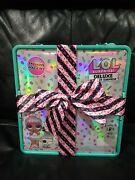 Lol Surprise Deluxe Present Teal Limited Edition Gift Box Set Sprinkles Presents