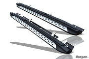 Running Boards For Mercedes Gla Class X156 2014+ Aluminum Abs Side Steps Skirts