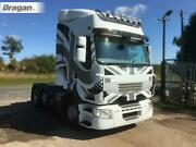 Roof Bar + Leds + Jumbo Spot + Clear Beacon For Man Tga Lx Cab Truck Stainless