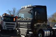Roof Bar + Leds + Jumbo Spot + Clear Beacon For Daf Xf 105 Space Cab Truck Steel