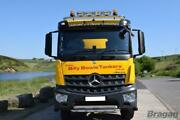 Roof Bar + Leds + Spot Lights + Amber Beacon For Mercedes Arocs Classic Low Cab