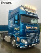 Roof Bar + Leds + Spot Lights For Daf Xf 106 2013+ Superspace Truck Stainless