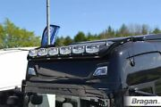 Roof Bar Black + Leds For New Gen Scania 2017+ R And S Series High Cab Truck Light