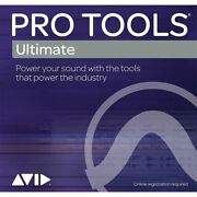 Avid Pro Tools Ultimate Perpetual License With 1-year Updates No Ilok