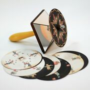 Toupie Fantoche. Optical Antique Toy Emile Reynaud With Set Of 10 Animation Disc