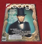 George Rare Abe/harrison Ford George Cover Collectible,good Condition