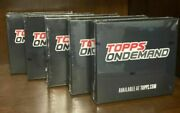2020 Topps On Demand 13 3d Sealed Rcs Ssp Roberts Lot Of 5 Packs / Boxes