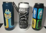 Star Wars Collectible Igloo Stainless Steel Can Tumblers. Set Of 3 New