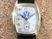 Elgin Volkswagen Small Second 10kgf Manual Vintage Watch 1950and039s