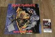 Iron Maiden Signed No Prayer For The Dying Album Signed By 4 Jsa Coa