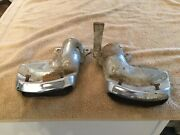 Solid Used Pair Of 1955 1956 Mercury Exhaust Tips / Outlets