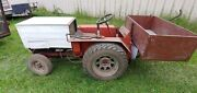 Garden Tractor Homemade With Hydraulic Dumping Box