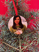 Parks And Recreation April Ludgate Plaza Christmas Tree Ornament Grumpy Cat