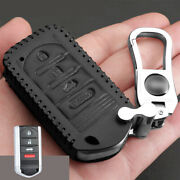 Genuine Leather Car Key Fob Case Cover Bag For Acura Tl Rdx Zdx Ilx Accessories