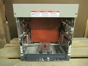 1600 A Square D Masterpact Breaker Stationary Assembly Cradle Chasis Nw16h3/hf