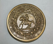 Antique Style Military Civil War Confederate Csa Belt Buckle Solid Brass 1