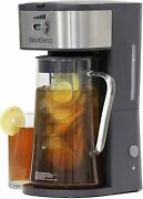 West Bend Fresh Iced Tea And Coffee Maker Includes An Infusion Tube To Customize
