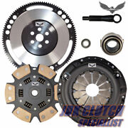 Jd Stage 3 Track Clutch And 8lbs Flywheel Kit Fits 1992-2005 Honda Civic