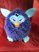 Hasbro Furby, Violet Purple And Light Blue - 2012 Works Great