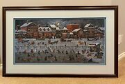 Artist Charles Wysocki Bostonians And Beans Signed And Numbered Le Print 626/6711