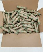 1000 Rolls Preformed Coin Wrappers Paper Tubes For Dime 10 Cents Holds 5 Each