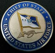 Usaf Chief Of Staff Challenge Coin