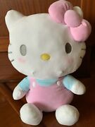 Sanrio Original Hello Kitty 19 Mochi Pink Plush Doll Nwt, Rare And Sold Out