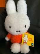 Miffy By Dick Bruna 11.25 Plush Doll From Japan New W/tags Rare And Sold Out