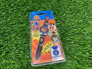 Vintage Looney Tunes Taz Digital Watch With Changeable Faces New
