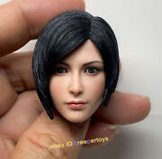 Mttoys Ada Wong Resident Evil 1/6 Scale Head Sculpt For 12and039and039 Action Figures