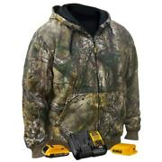 Dewalt Dchj074d1-s Unisex Realtree Xtra Camouflage Heated Hoodie Kit - Small