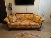 Antique Duncan Phyfe Claw Feet Couch Sofa, Excellent Condition, Restored.
