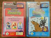 Lot 2 Leap Frog Pad Start Pre-reading 2 First Chapter Book Scooby-doo Princess