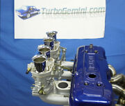 Gemini Twin Reproduction Weber 40idf Carbs And Manifold Kit 40 Idf Carbys Rodeo
