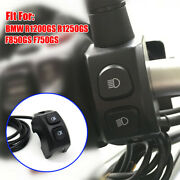 Motorcycle High Low Beam Light Switch Abs Fit Bmw R1250gs F850gs F750gs R1200gs