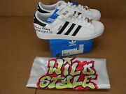 Adidas Sample Charlie Ahearn Signed Wild Style Superstar Ii Size 13 1 Of Kind