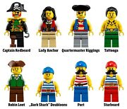 Lot Of All 10 Minifigures Only From Lego 21322 Ideas Pirates Of Barracuda Bay