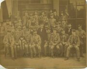 Conductor Group In Uniforms Antique Photo New York