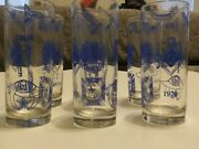 Lot Of 6 Vintage1976 In Hoc Signo Vinces Masonic Spes Mea In Deoes Glasses - Z