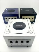 Nintendo Game Cube Games Lot 40 Games 3 Consoles Controllers Adapters Etc.