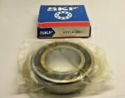 Skf 62214-2rs1 Ball Bearing Double Sealed 70 Id X 125 Od X 31mm