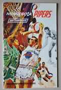 Minnesota Pipers Aba Champions Media Guide
