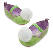Disney Store Tinker Bell Tinkerbell Costume Shoes Baby 0 - 6 Months Fairy New