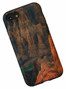 For Iphone Se 2020 / 7 / 8 Landscape View Of Red Mountain Rocks And River Case
