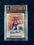 2018 Patrick Mahomes National Treasures Holo Gold Bgs 9 Top Pop None Higher